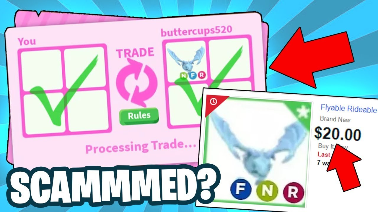 I Bought The Cheapest Neon Frost Dragon On Ebay And This Happened Roblox Adopt Me Youtube