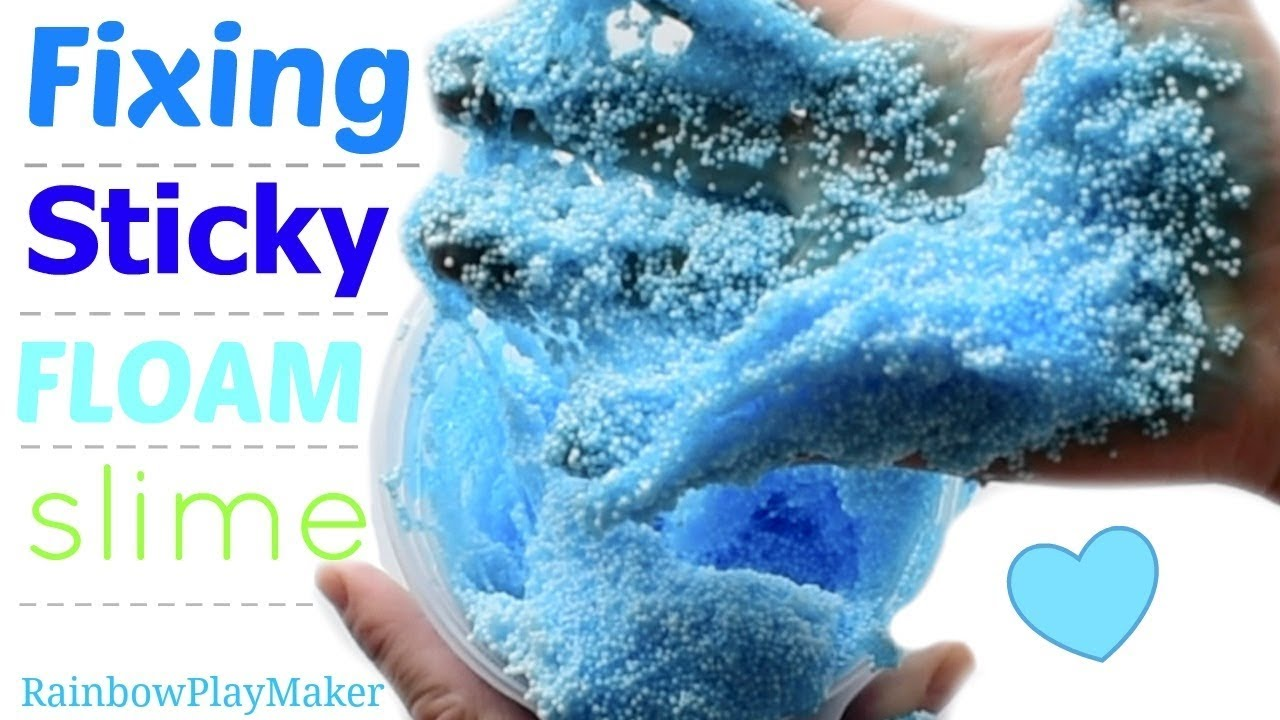 Fixing sticky watery slime easy satisfying floam asmr video fixing sticky watery slime easy satisfying floam asmr video ccuart Image collections