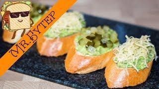 ГУАКАМОЛЕ 🥑 2 рецепта Пикантных бутербродов с авокадо