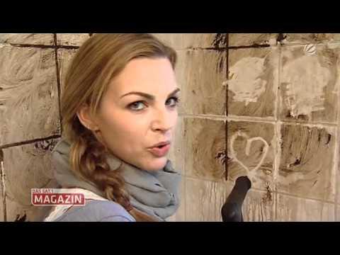"""Annika Kipp & der Dampfreiniger-Test im """"Sat.1 Magazin"""""""