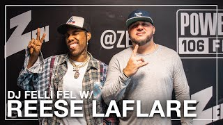 Reese LAFLARE On Dom Kennedy Getting Him To Rap, Skateboarding & Discovering Lil Uzi Vert