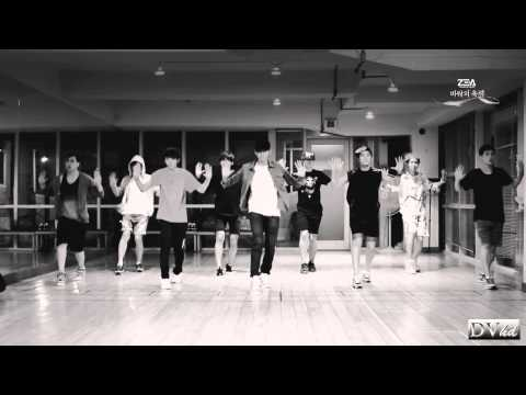 ZE:A - The Ghost of Wind (dance practice) DVhd