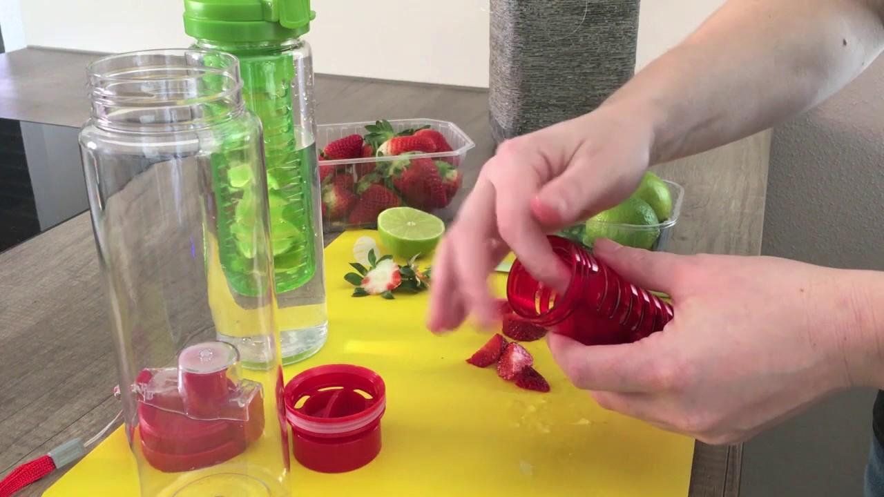 Trinkflaschen Mit Fruchteinsatz Ideal Für Fruchtschorlen
