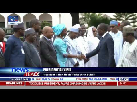 Presidents Of Benin Republic And Togo Visit Nigeria