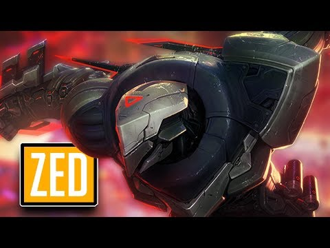League of Legends #444: Zed Mid (CZ/Full HD/60FPS)