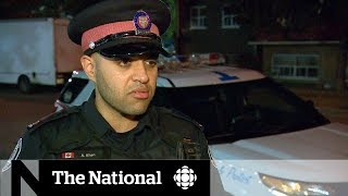 Ride-along with Toronto police officers