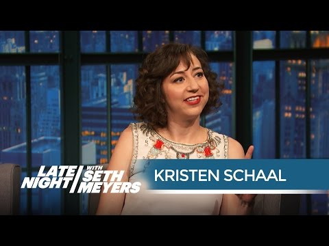Kristen Schaal on Her Gassy Love Scene with Will Forte - Late Night with Seth Meyers