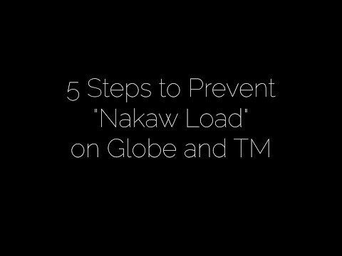 "5 Steps to prevent ""Nakaw Load"" on Globe and TM Prepaid"