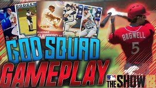 Best Team in MLB The Show 18 Diamond Dynasty God Squad Gameplay! 99 Immortal Vlad! Grand Slam!