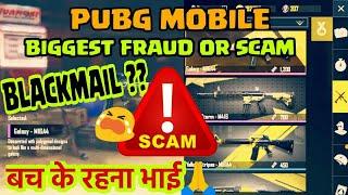 Pubg mobile scam | Do I got blackmailed?? 😭 | Pubg mobile Hindi