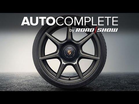 AutoComplete: Porsche builds $18,000 carbon fiber wheels