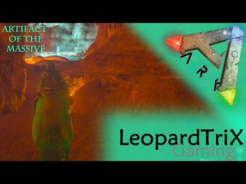Ark Survival Evolved | Artifact of the Massive | South East (Lava) Cave