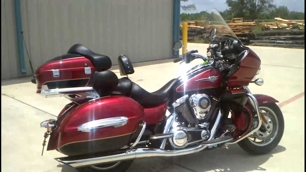 2010 Kawasaki Vulcan 1700 Voyager ABS Touring Motorcycle