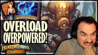 OVERLOAD = OVERPOWERED?! - Hearthstone Duels