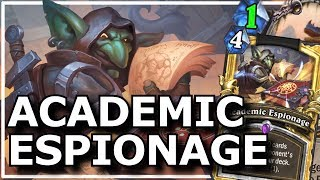 Hearthstone - Best of Academic Espionage