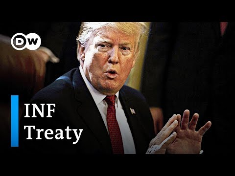 US expected to pull out of nuclear arms treaty with russia | DW News