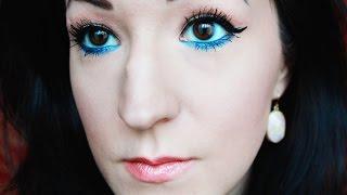 Spring Makeup Tutorial with Blue Eyeliner Thumbnail