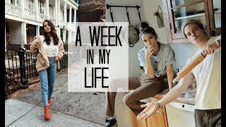 WEEK IN MY LIFE: 6 | BTS Filming + Holidays in NYC