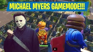 MICHAEL MYERS CUSTOM GAMEMODE IN FORTNITE + FUNNY MOMENTS IN PLAYGROUND!!! (Fortnite Battle Royale)
