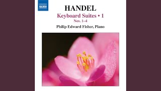 Keyboard Suite No. 1 (Set I) in A Major, HWV 426: II. Allemande