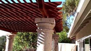 Pergola Completed, Part 7