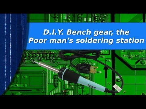 Electronics - The poor mans soldering station.