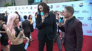 Hozier Red Carpet Interview - BBMA 2015