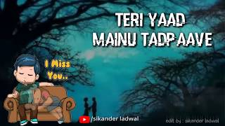 FAKIRA Song || WhatsApp Status || Qismat || Ammy Virk || Gurnam Bhullar || Latest