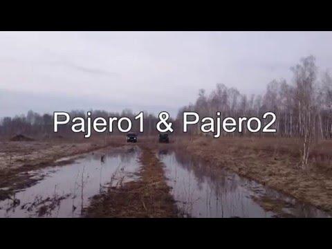 Mud Racing Mitsubishi Pajero VS Land Cruiser Prado