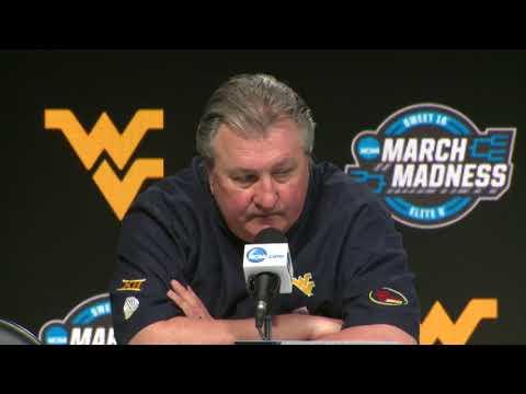 West Virginia post-game Villanova -- Sweet 16 NCAA Tournament