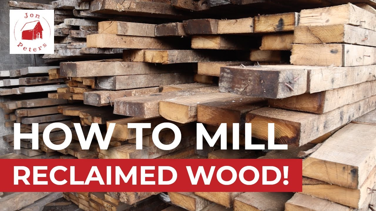 How To Mill Reclaimed Wood New Jersey