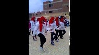 حفله عيد الام بمدرسة ميت كنانة الريفية الاعدادية بنات 2016 اغنية علمونا فى مدرستنا