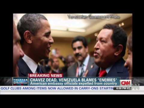 CHAVEZ DEAD, VENEZUELA BLAMES ENEMIES. HUGO CHAVEZ IS DEAD