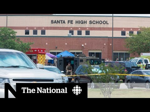 School shooting kills 10 at Texas high-school