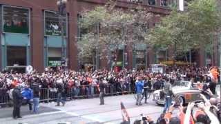 World Series Parade 2012 San Francisco Giants !!!
