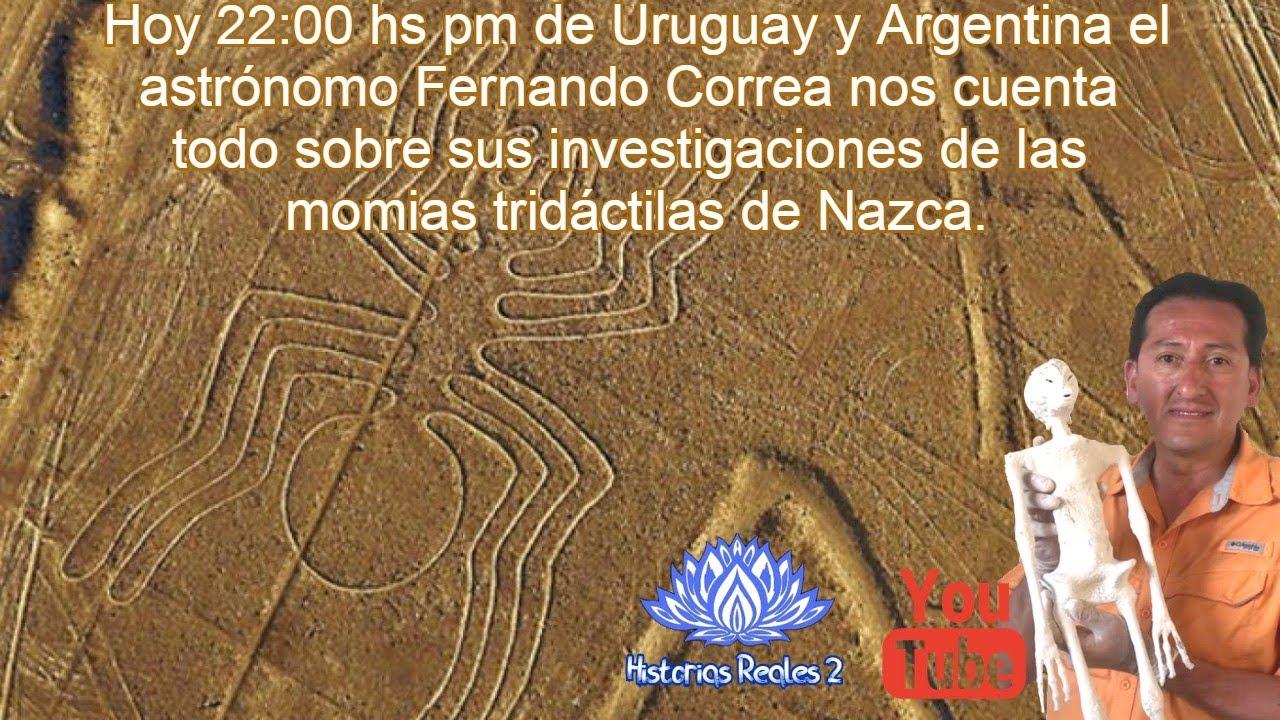 Momias Tridáctilas De Nazca Por Astrónomo Fernando Correa