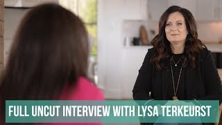 Full Uncut Interview with Lysa Terkeurst