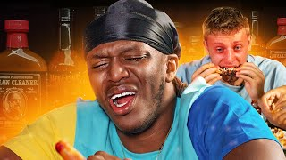 SIDEMEN EAT THE HOTTEST WINGS CHALLENGE