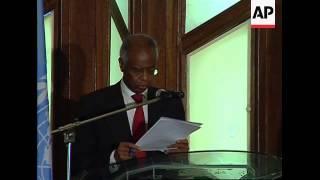 UN envoy on Somalia piracy crisis at piracy conference