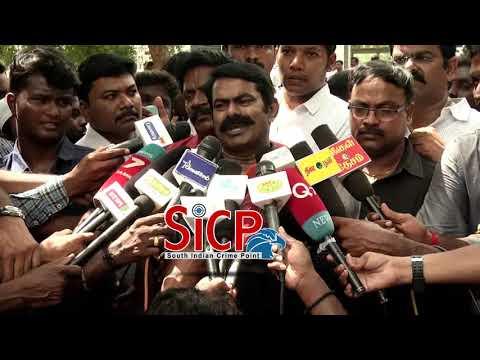 Thol.Thirumavalavan and Seeman Floral tributes to Kamaraj