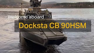 homepage tile video photo for Welcome Aboard the new and improved combat boat made by Saab