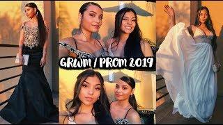 GRWM PROM 2019 With David's Bridal! | MontoyaTwinz