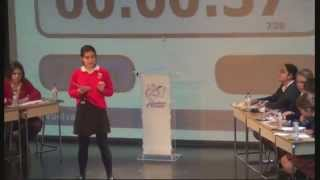Agustinos Alicante | Debate torrents con colegio Altozano