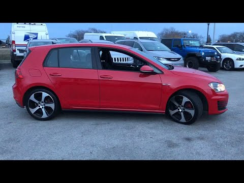 2017 Volkswagen Golf GTI Pre-owned used near me Chicago, IL Area J3527A