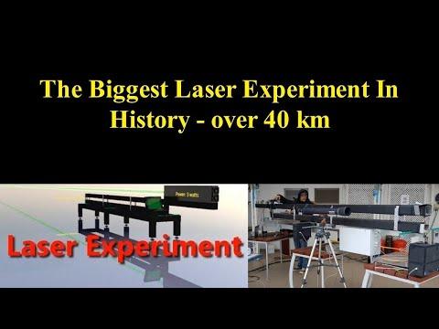 40 km+ Laser Experiment   Flat Earth thumbnail