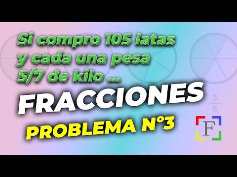 III Problema de fracciones 1ºESO (01039) - YouTube