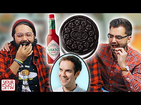 We Try WEIRD FOOD COMBO DARES (Ft. JACKSFILMS) | YOUR SHOW