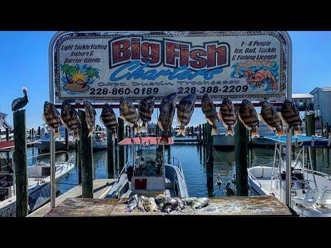Sheepshead Fishing In Biloxi MS