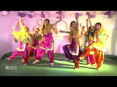 Gidda: Folk Dance of Punjab - South End Public School Fest'13