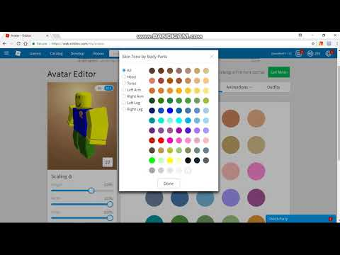 roblox noob skins de roblox How To Make A Noob Skin In Roblox Youtube